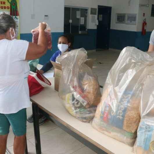 Prefeitura de Caraguatatuba distribui Kit Alimentação aos alunos nesta segunda, (03)