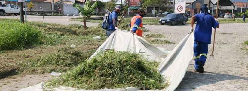 Prefeitura de Caraguatatuba convoca mais 35 bolsistas do PEAD para autuar na limpeza urbana