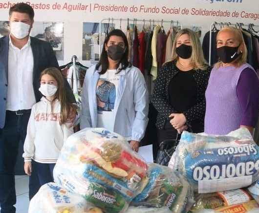 Fundo Social recebe doação de cestas básicas da OAB de Caraguatatuba