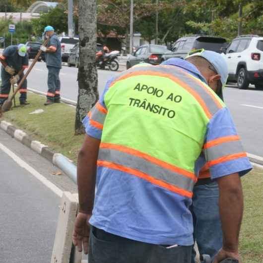 Empresa instala lombada eletrônica na Avenida da Praia de Caraguatatuba e inicia teste