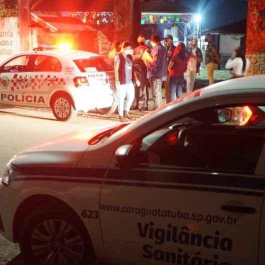 Festa Junina e rolezinho são frustrados pela Fiscalização da Prefeitura de Caraguatatuba e PM no fim de semana; autuações atingem R$ 44,5 mil