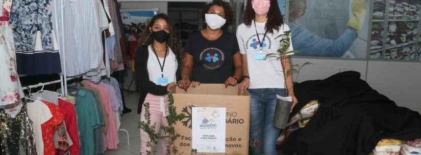 Secretaria do Meio Ambiente de Caraguatuba entrega mudas nativas para quem doar agasalho