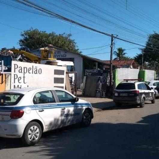 Prefeitura de Caraguatatuba e Polícias fazem megaoperação em ferros-velhos contra furtos e venda de materiais nobres