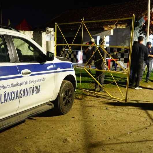 Fiscalização da Prefeitura de Caraguatatuba e PM fecham três festas clandestinas no fim de semana