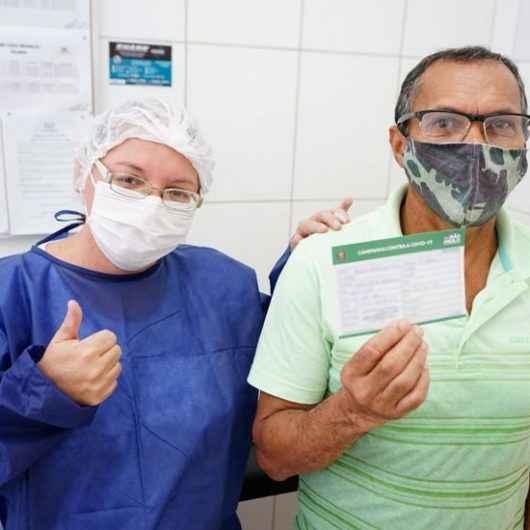Mais de 80% da população idosa de Caraguatatuba já recebeu a primeira dose da vacina contra Covid-19