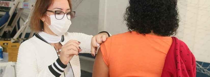 Mais de 600 profissionais da Educação serão vacinados nesta quarta-feira em Caraguatatuba