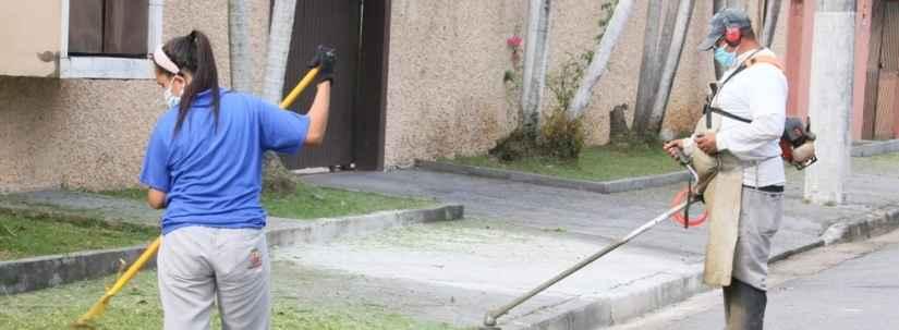 Prefeitura de Caraguatatuba convoca 18 bolsistas do PEAD para manutenção de espaços públicos
