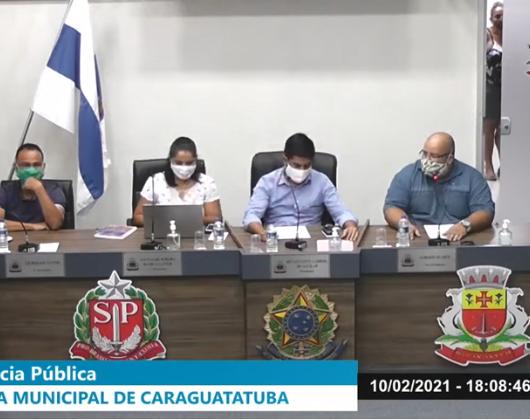 Audiências abordam equiparação dos prazos das licenças de adoção e maternidade na Câmara de Caraguatatuba