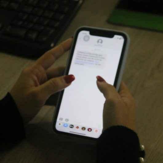 Secretaria de Urbanismo de Caraguatatuba alerta para golpe do SMS em clonagem de celular