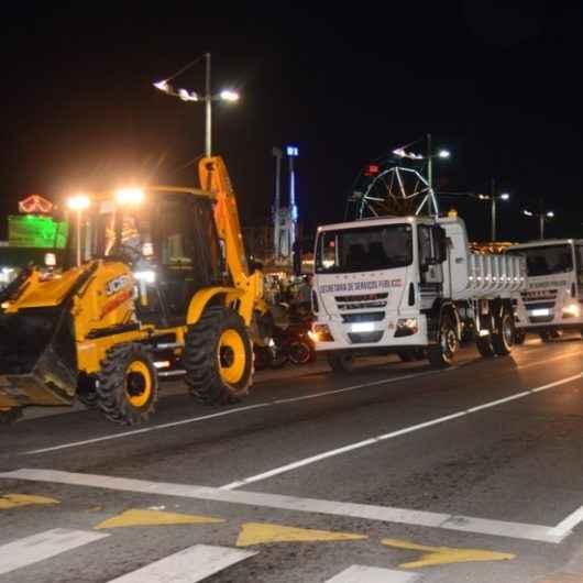 Prefeitura de Caraguatatuba adquire sete novos maquinários para intensificar trabalhos de manutenção