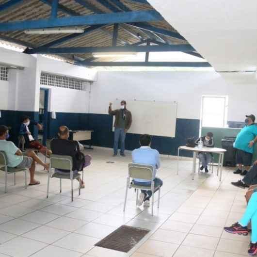 Permissionários do Camaroeiro participam de reunião com Prefeitura e Colônia de Pescadores Z-8