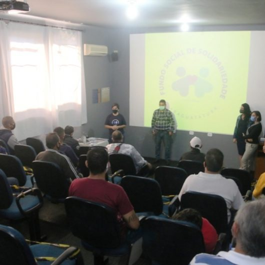Fundo Social de Caraguatatuba e Sebrae iniciam qualificação de Pequenos Reparos em Edificações - parte elétrica
