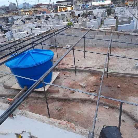 Prefeitura de Caraguatatuba inicia reforma do IML e estuda ampliação do Cemitério Municipal