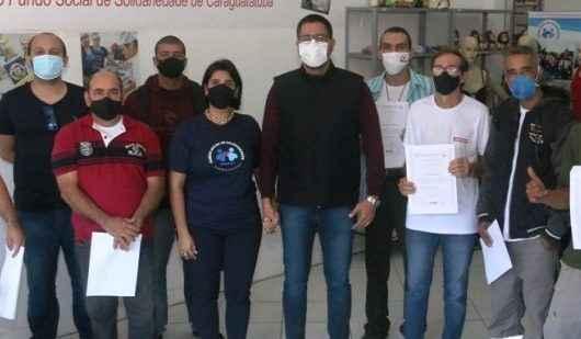 Caraguatatuba forma alunos no curso de NR11 - Operação de Empilhadeira