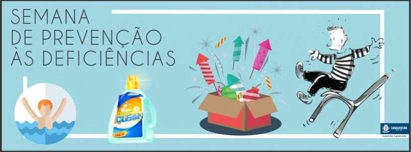 Prefeitura de Caraguatatuba promove 9ª Semana de Prevenção às Deficiências