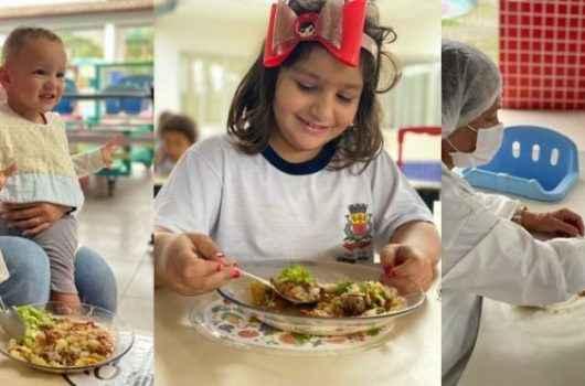 Educação de Caraguatatuba desenvolve canal para tratar sobre alimentação escolar e nutrição