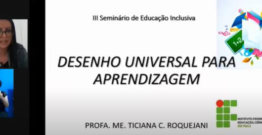 Seminário de Educação Inclusiva de Caraguatatuba teve mais de 2300 participantes