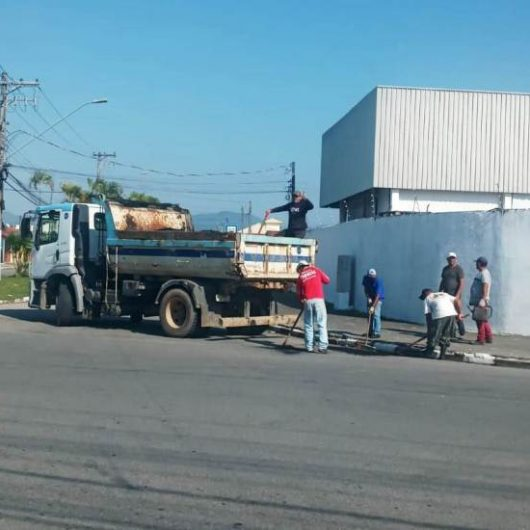 Pontal Santamarina recebe 'Operação Tapa Buracos'