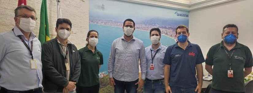 Aguilar Junior e EDP estreitam parcerias e ações para Caraguatatuba