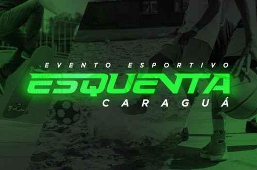 'Esquenta Caraguá' reúne competições de futevôlei, skate e basquete 3x3 no Centro, em outubro