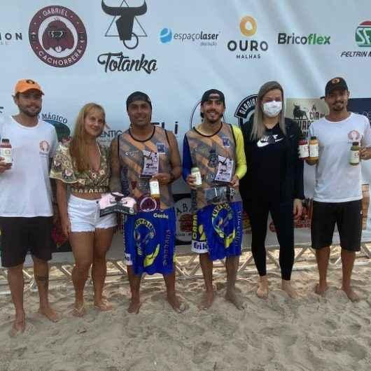 Caraguatatuba é vice-campeã de Futevôlei na praia de Maresias, São Sebastião