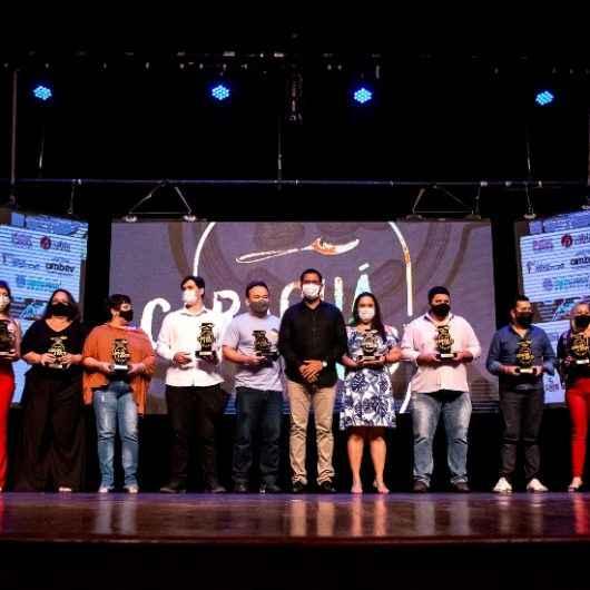 Caraguá A Gosto premia campeões da 16ª edição; mais de 17,4 mil votos válidos
