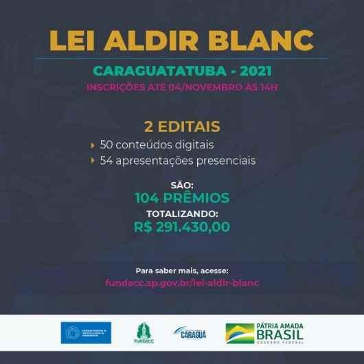Fundacc, Conselho e Prefeitura de Caraguatatuba lançam editais para aplicação dos recursos remanescentes da Lei Aldir Blanc