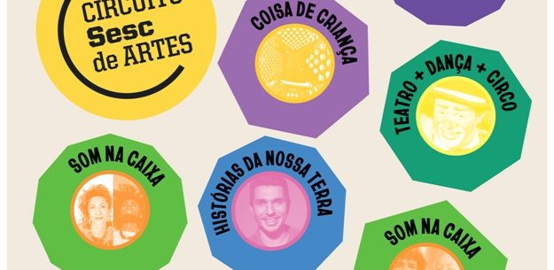 Circuito Sesc de Artes 2021 chega a Caraguatatuba com programação online no mês de setembro