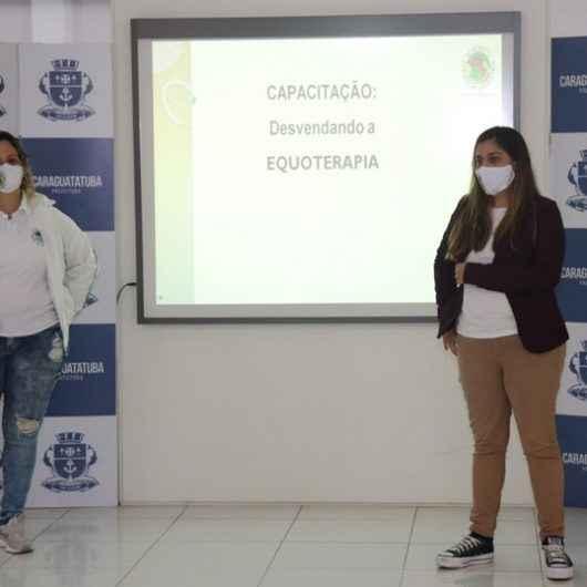 Educação de Caraguatatuba aplica equoterapia aliada à educação inclusiva