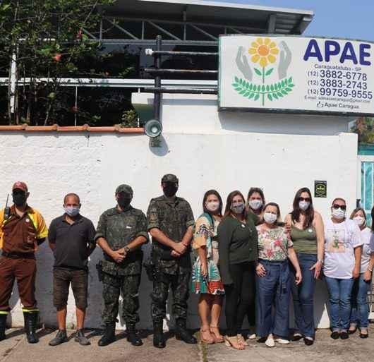 APAE Caraguatatuba realiza carreata em alusão ao Dia da Pessoa com Deficiência