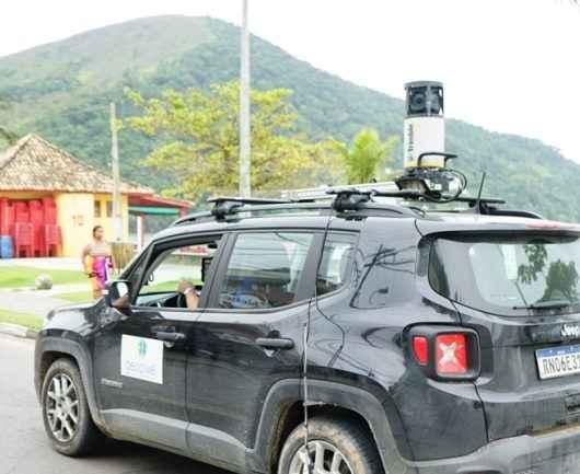 Prefeitura de Caraguatatuba faz mapeamento móvel terrestre de 360º para gestão da geoinformação
