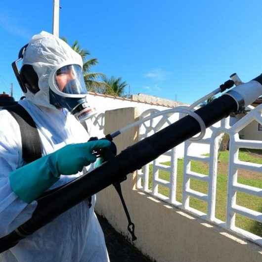 Secretaria de Saúde realiza nebulização no Morro do Algodão neste final de semana