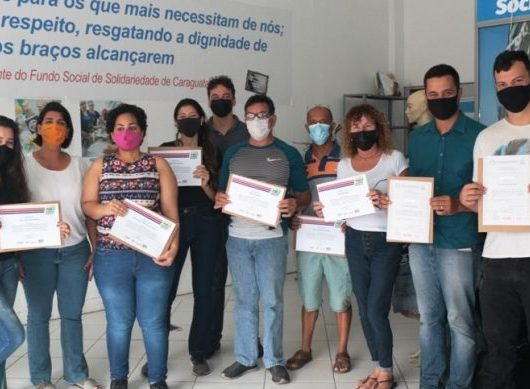 Fundo Social de Caraguatatuba forma alunos em cursos de qualificação