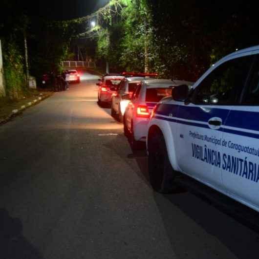 Prefeitura de Caraguatatuba interrompe festa clandestina em chácara no Cantagalo