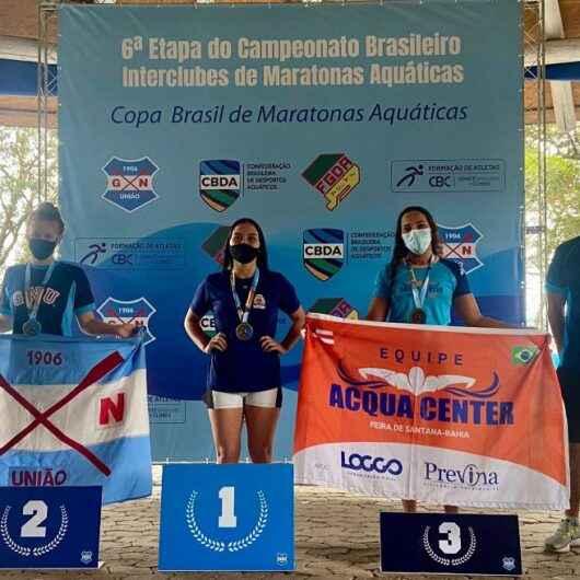 Nadadores conquistam medalhas em nova edição do Campeonato Brasileiro de Maratonas Aquáticas