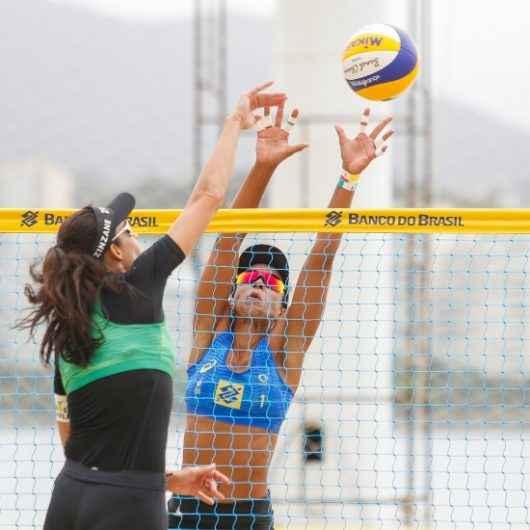 Dupla de vôlei de praia de Caraguatatuba conquista posição entre as melhores do Brasil