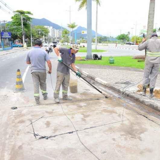 Prefeitura de Caraguatatuba inicia implantação de redutores eletrônicos de velocidade