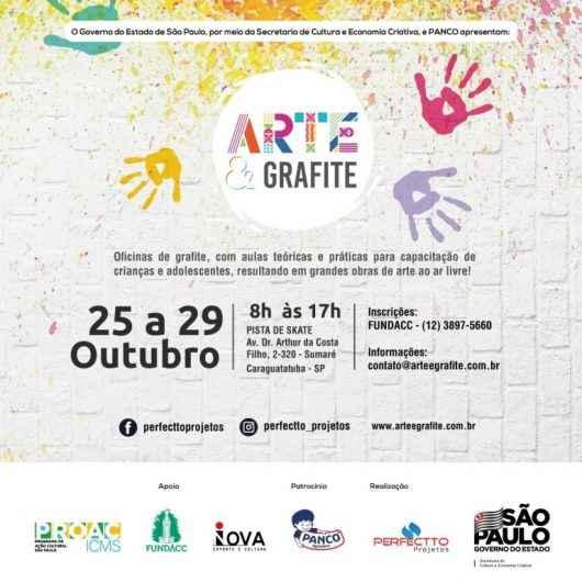 Pista de skate de Caraguatatuba será transformada em uma grande obra de arte ao ar livre