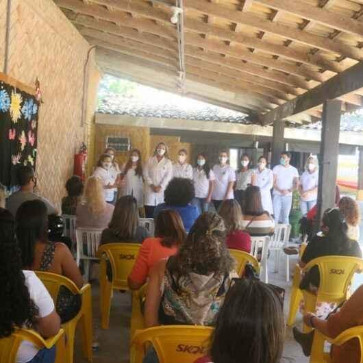 Professores da rede municipal participam de capacitação sobre Comunicação Alternativa e Aumentativa na Acalento
