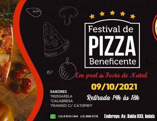 Festival de pizzas em prol da Apae Caraguatatuba é neste sábado