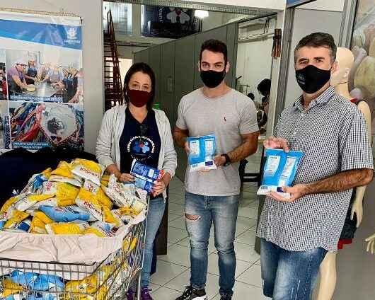 Fundo Social de Caraguatatuba repassa doações arrecadadas durante evento MMA Brazil Tour Internacional