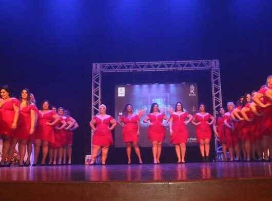 Modelo caraguatatubense vence categoria no 3º Miss Plus Size Litoral Norte 2021